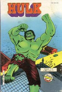 Cover Thumbnail for Hulk (Arédit-Artima, 1976 series) #25