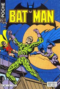 Cover Thumbnail for Batman Poche (Sage - Sagédition, 1976 series) #28