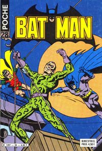 Cover Thumbnail for Batman Poche (Sage - Sagédition, 1976 series) #28