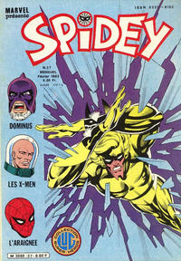Cover Thumbnail for Spidey (Editions Lug, 1979 series) #37