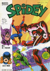 Cover Thumbnail for Spidey (Editions Lug, 1979 series) #39