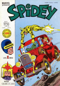 Cover Thumbnail for Spidey (Editions Lug, 1979 series) #41