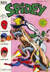 Cover Thumbnail for Spidey (Editions Lug, 1979 series) #45