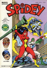 Cover Thumbnail for Spidey (Editions Lug, 1979 series) #44