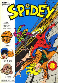 Cover Thumbnail for Spidey (Editions Lug, 1979 series) #49