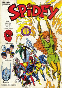 Cover Thumbnail for Spidey (Editions Lug, 1979 series) #51