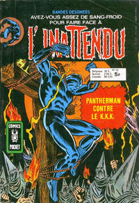 Cover Thumbnail for L'Inattendu (Arédit-Artima, 1975 series) #12