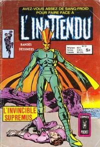 Cover Thumbnail for L'Inattendu (Arédit-Artima, 1975 series) #13