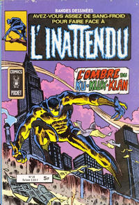 Cover Thumbnail for L'Inattendu (Arédit-Artima, 1975 series) #25