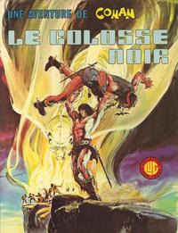 Cover Thumbnail for Une Aventure de Conan (Editions Lug, 1976 series) #1 - Le colosse noir