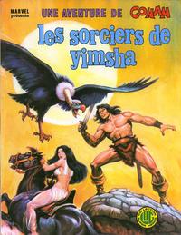 Cover Thumbnail for Une Aventure de Conan (Editions Lug, 1976 series) #9 - Les sorciers de Yimsha