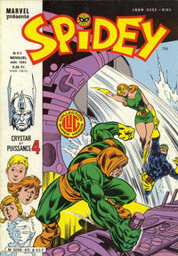 Cover Thumbnail for Spidey (Editions Lug, 1979 series) #65