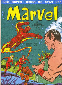 Cover Thumbnail for Marvel (Editions Lug, 1970 series) #7