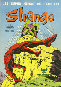 Cover Thumbnail for Strange (Editions Lug, 1970 series) #31
