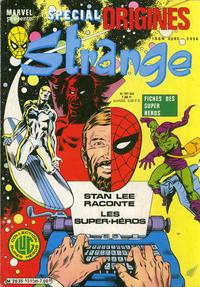 Cover Thumbnail for Strange Spécial Origines (Editions Lug, 1981 series) #151