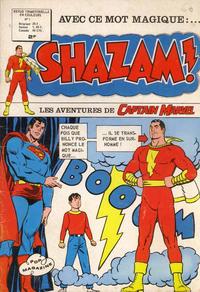 Cover Thumbnail for Shazam! (Arédit-Artima, 1974 series) #1