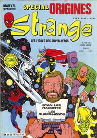 Cover Thumbnail for Strange Spécial Origines (Editions Lug, 1981 series) #163