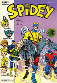 Cover Thumbnail for Spidey (Editions Lug, 1979 series) #58