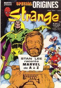 Cover Thumbnail for Strange Spécial Origines (Editions Lug, 1981 series) #214