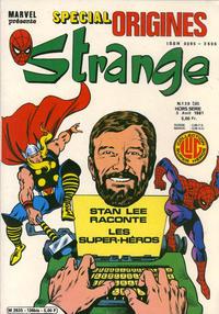 Cover Thumbnail for Strange Spécial Origines (Editions Lug, 1981 series) #136