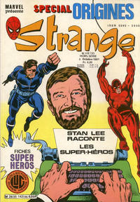 Cover Thumbnail for Strange Spécial Origines (Editions Lug, 1981 series) #142