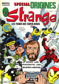 Cover Thumbnail for Strange Spécial Origines (Editions Lug, 1981 series) #169