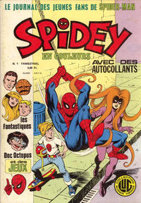 Cover Thumbnail for Spidey (Editions Lug, 1979 series) #1