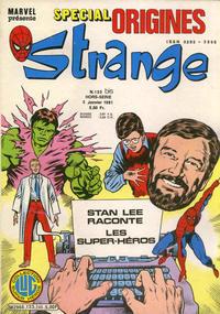 Cover Thumbnail for Strange Spécial Origines (Editions Lug, 1981 series) #133