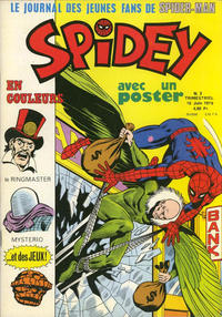 Cover Thumbnail for Spidey (Editions Lug, 1979 series) #2