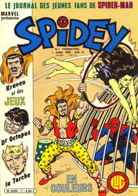 Cover Thumbnail for Spidey (Editions Lug, 1979 series) #7