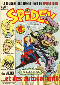 Cover Thumbnail for Spidey (Editions Lug, 1979 series) #8