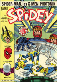 Cover Thumbnail for Spidey (Editions Lug, 1979 series) #32