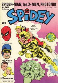 Cover Thumbnail for Spidey (Editions Lug, 1979 series) #33