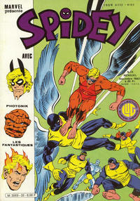 Cover Thumbnail for Spidey (Editions Lug, 1979 series) #35