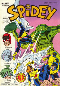 Cover Thumbnail for Spidey (Editions Lug, 1979 series) #53