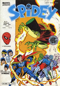 Cover Thumbnail for Spidey (Editions Lug, 1979 series) #54