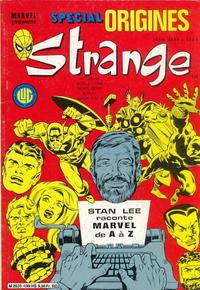 Cover Thumbnail for Strange Spécial Origines (Editions Lug, 1981 series) #199