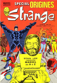 Cover Thumbnail for Strange Spécial Origines (Editions Lug, 1981 series) #208