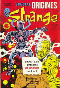Cover Thumbnail for Strange Spécial Origines (Editions Lug, 1981 series) #220