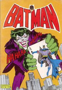Cover Thumbnail for Batman Bimestriel (Sage - Sagédition, 1975 series) #1