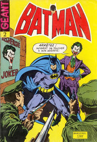 Cover Thumbnail for Batman Bimestriel (Sage - Sagédition, 1975 series) #2