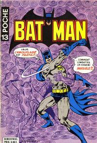 Cover Thumbnail for Batman Poche (Sage - Sagédition, 1976 series) #13