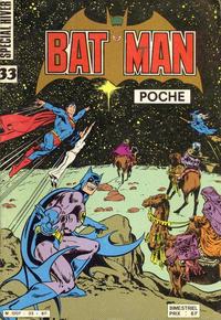 Cover Thumbnail for Batman Poche (Sage - Sagédition, 1976 series) #33