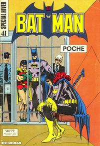 Cover Thumbnail for Batman Poche (Sage - Sagédition, 1976 series) #41