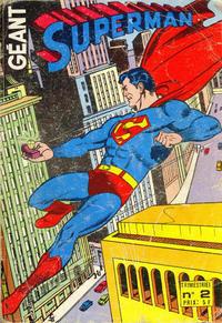 Cover Thumbnail for Superman Géant (Sage - Sagédition, 1979 series) #2