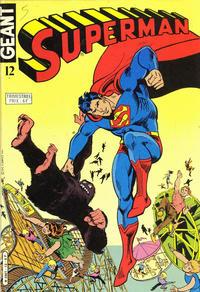 Cover Thumbnail for Superman Géant (Sage - Sagédition, 1979 series) #12