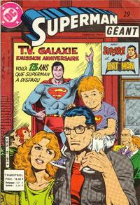 Cover Thumbnail for Superman Géant (Sage - Sagédition, 1979 series) #29