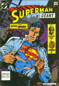 Cover Thumbnail for Superman Géant (Sage - Sagédition, 1979 series) #30