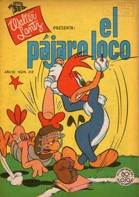 Cover Thumbnail for El Pájaro Loco (Editorial Novaro, 1951 series) #22