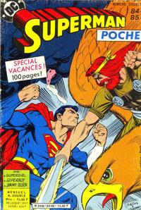 Cover Thumbnail for Superman Poche (Sage - Sagédition, 1976 series) #84-85